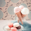 Ice cream cones in cup  — 图库照片 #64038665