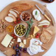 Cheese platter for two — Stock Photo #65454923