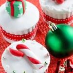 Christmas theme cupcakes — Stock Photo #65458677