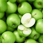 Granny smith apple background — Stock Photo #65459441