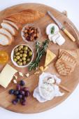 Perfect cheese platter  — Stock Photo