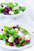 Fresh healthy green salad for lunch dinner  — Stock Photo