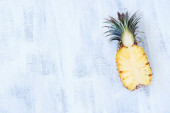 Tropical Pineapple — Stock Photo