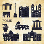 Rome. Vector illustration — Stock Vector