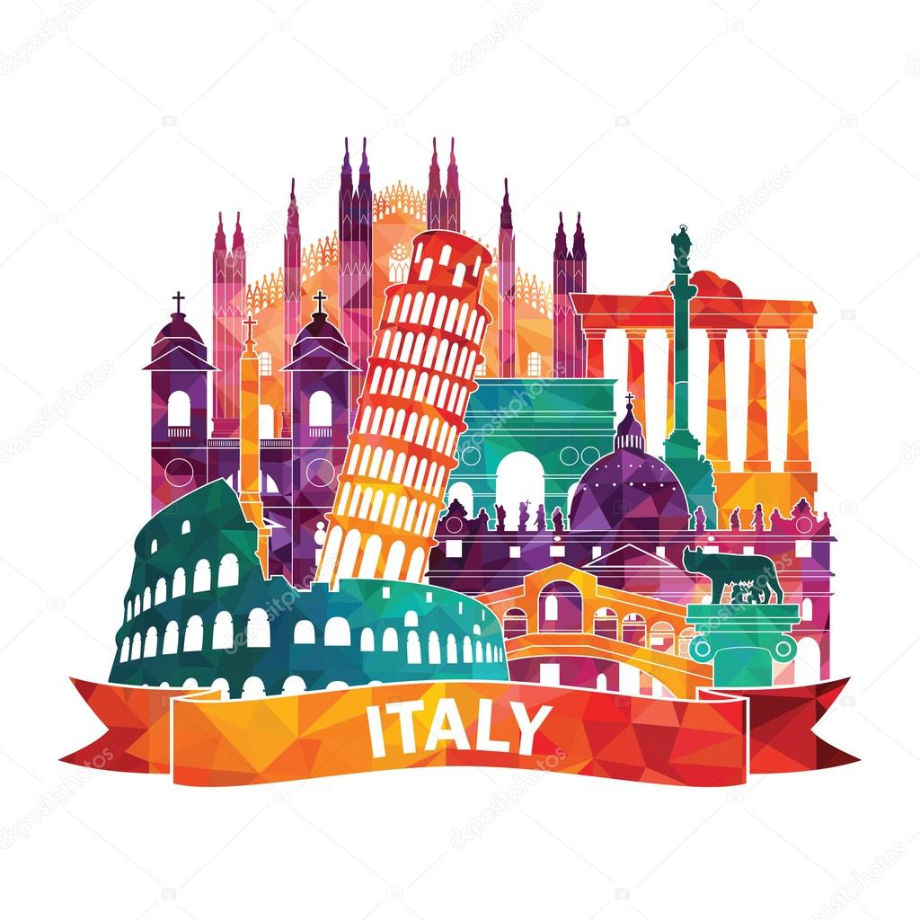Италия картинки для рисунка