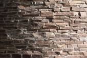 Ancient wall in light colors — Stock Photo
