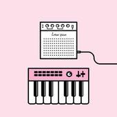 Music equipment icons — Stock Vector
