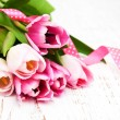 Bouquet of pink tulips — Stock Photo #69710095