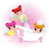 Sweet fairy — Stock Vector