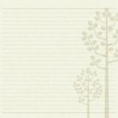 Tree letter paper — Stock Vector