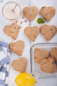 Heart shaped cookies. — Stock Photo