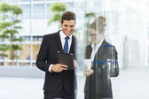 Business people meeting at the office — Stock Photo