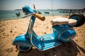 Retro scooter — Stock Photo
