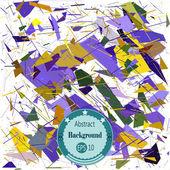 Fondo abstracto geométrico. Ilustración del vector. Eps 10. — Vector de stock