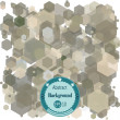 Abstract background with transparency hexagons. Vector illustration. EPS 10 — Stock Vector #65343019