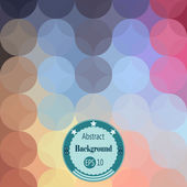 Abstract background with transparency rounds. Vector illustration. EPS 10 — Stock Vector