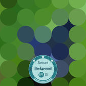 Abstract background with rounds. Vector illustration. EPS 10 — Stock Vector