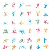 Omlipiade Sports Icon 3 — Stock Vector
