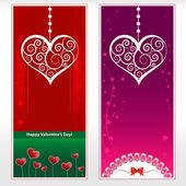 Valentine's card. Vector illustration. — Stock Vector