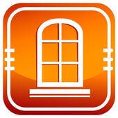Closed window icon — Stock Vector