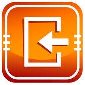 Enter. Safety outputs — Stock Vector