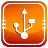 USB symbol,vector — Stockvector
