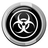Warning symbol biohazard vector — Stock Vector
