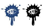 Vector icon - Human eye — Stock Vector