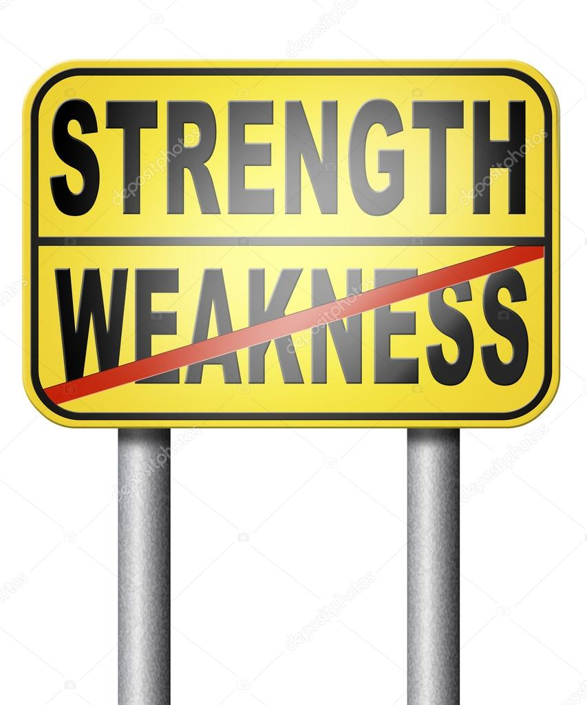 strength weakness choose stock photo copy illustratorkris  strength weakness choose stock photo 106343622