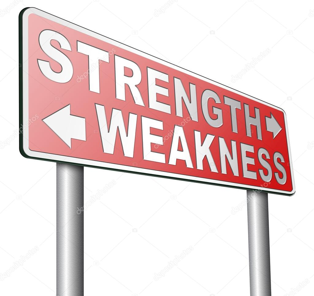 strength weakness choose stock photo © illustratorkris 106343838 strength weakness choose stock photo 106343838