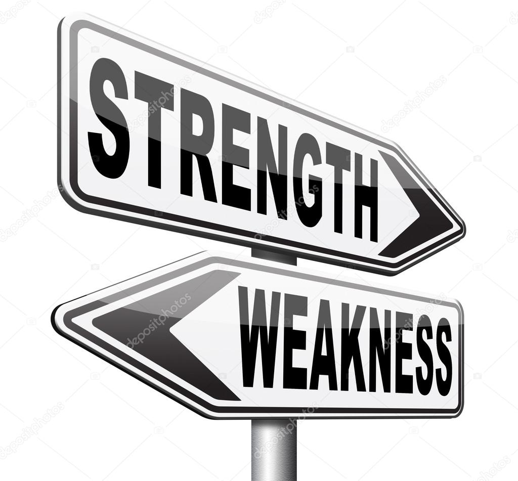 strength weakness choose stock photo copy illustratorkris  strength weakness choose stock photo 106343894