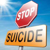 No suicide — Stock Photo
