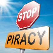 No piracy — Stock Photo