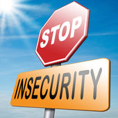 Stop insecurity — Stock Photo