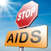 Stop aids — Stock Photo