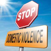 Stop domestic violence — Stock Photo