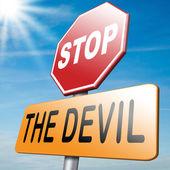 Stop the devil — Stock Photo