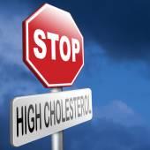 High cholesterol — Stock Photo