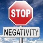 No pessimism stop negativity — Stock Photo #70821721