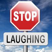Stop laughing — Stock Photo