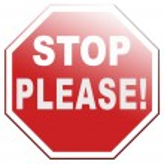 Please stop no more — Stock Photo #71414343