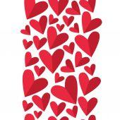 Hearts seamless pattern — Stockvektor