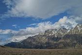 Snow-capped mountains. Caucasus mountains, Georgia — Stock Photo