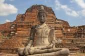 Budda in Ayutthaya — Stock Photo