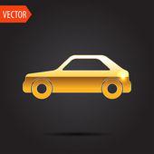 Pictogram van auto — Stockvector