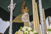 """Holy Week in Spain, procession of """"Christ the expiry, Our Lady o — Photo"""