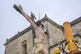 """Semaine Sainte en Espagne, procession du """"Christ l'expiration, notre dame o — Photo"""