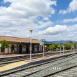 Train station village — Stock Photo #71753535