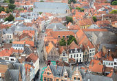 Brugge roofs — Stock Photo