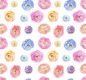 Aquarel naadloze patroon — Stockfoto